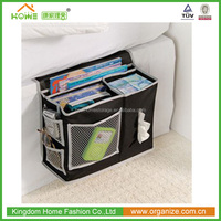 600D polyester Amazon Hot-sale bedside caddy bed organizer
