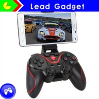 Hot Wireless Game Controller For Pc/android Bluetooth Gamepad With Double Shock Controller For Android Bluetooth Game Controller