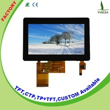 New technology 2015 Custom 4.3 inch lcd touch screen module