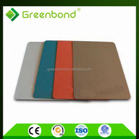 Greenbond aluminum honeycomb panel of ceiling with excellent quality of standard size acp sheet