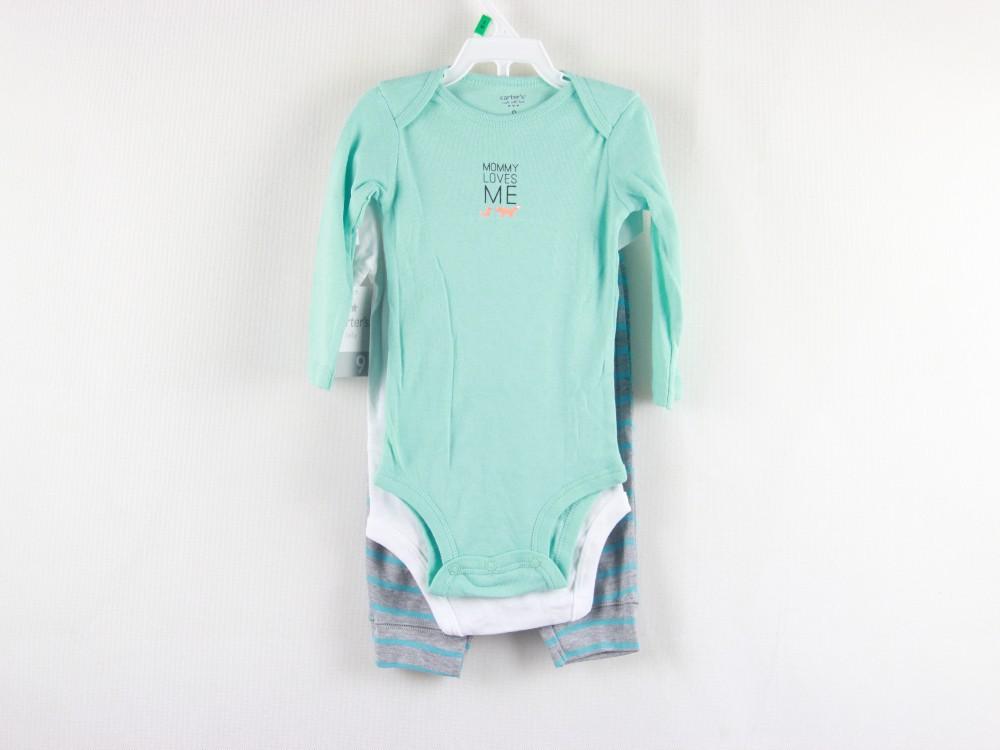 Комплект одежды для девочек CARETRR 3 , & + , set.carters 0056