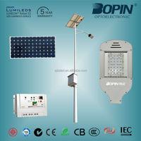 Factory sell 60w street lamp LED Streetlight Solar power 24W 40W 60W 80W 100W 120W Led Road Light COB led street light