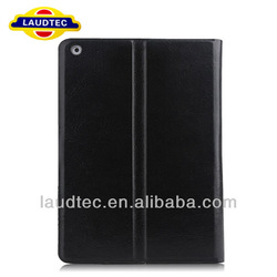 PU Leather Case for iPad 5 Laudtec Made in China Stand Leather Cover for iPad 5 Housing