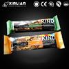 food grade pecan bar packaging bag/energy bar packaging plastic bag/sweets packaging pouch