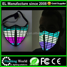 EL Panel Mask,custom el mask for party, cool el panel mask for fun