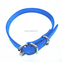 3.5mm thickness durable nylon collar for dog training