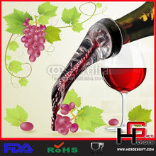 Acrylic Red Wine Aerator Pour Spout Bottle Stopper Decanter Pourer Aerating