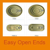 EOE tinplate made can easy open end