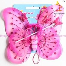 New design fancy dress butterfly wings set for wholesale