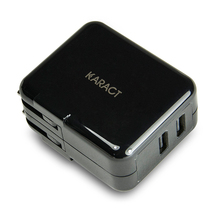 2 USB portable travel wall charger