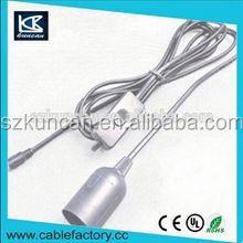 specialized in salt lamp power cord with E14 lamp holder with Au plug