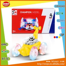 Kids car children toys 360 Degrees plastic propel rc car 360 eversion