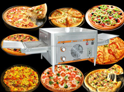 mini electric pizza baking commercial pizza oven / commercial pizza oven / electric conveyor pizza oven