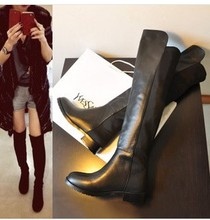 2013 winter Fashion leather lady boots