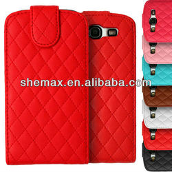 Made In China Cell Phone Bags, Premium PU Leather Quilted Case Cover Fits Various Mobile Phone