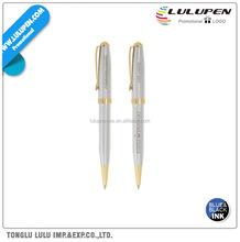 BIC Worthington Chrome Twist Style Ballpoint Promotional Pen (Lu-Q37551)