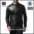 2015 de moda hombre pu chaqueta,negro chaqueta del invierno para honbre