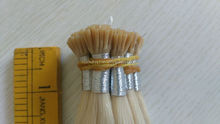 8a grade european remy hair two tone ombre keratin hair extensions I tip hair extensions