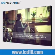 """60"""" super narrow bezel high quality/high definition video player DID splicing lcd player indoor LCD video wall"""