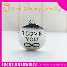 Laser engraving Beads round fortune the European and American Christmas accessories accessories pendant