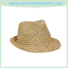 Natural Straw Fedora Hats
