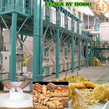 150t/24h wheat flour milling machine complete set plant installed in bengal