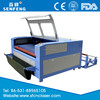 SF1610sc double head woven fabric laser cutter auto feed 1600