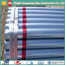 ( Tianjin Yuxing ) prime quality low carbon Q235 Fence Post Galvanized Steel Pipe Tube