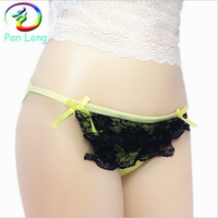 Stock lots sales teen girl sexy lingerie thong