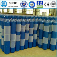 High Pressure Oxygen Welding Gas Bottle Used Oxygen Cylinders Price