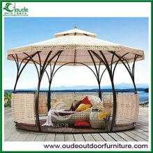 new design rattan garden gazebo