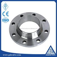 DIN standard carbon steel weld neck flange