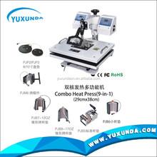 4 in 1 diy cup heat press machine Digital Combo Heat Press