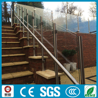 decorative outdoor hand rails for stairs/stair hand rail design