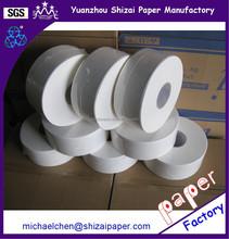9cm x 300M 2 ply Jumbo Toilet paper, 8 rolls per carton