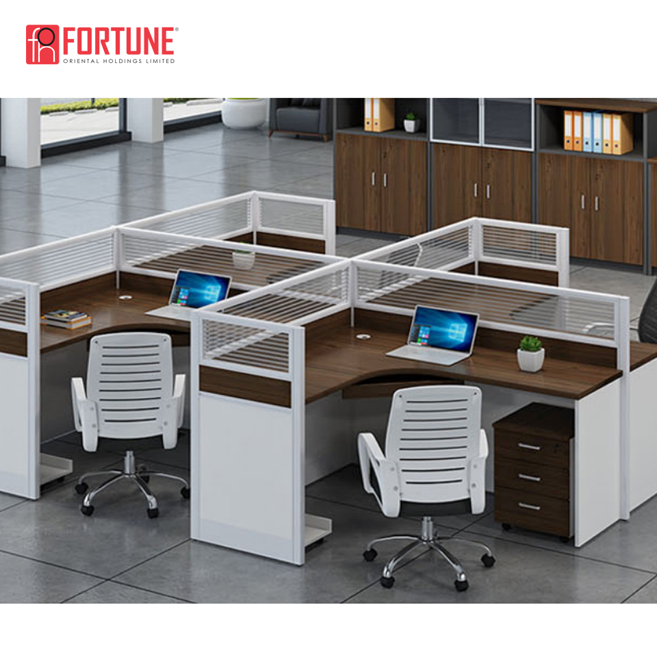 Mesa aberta dos cubículos do escritório para EUA FOH-P30D-2W