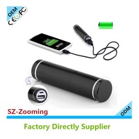 3000mAh LG/Samsung safety battery power bank mobile charger with digital display capacity