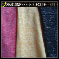 polyester cotton rayon blend fabric TCR snow yarn fabric