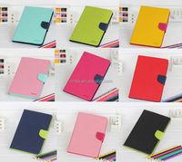 Mercury Goospery Premium PU Leather Card Wallet Flip Case Cover for ipad mini 3 / ipad mini 2