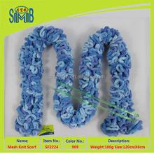 yarn factory wholesale fashion winter cheap handmade scarf in high quality