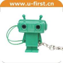 Robot type,cute earphone splitter ,3.5 stereo to 2*3.5 stereo jacks