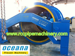 Suspension Roller Concrete Pipe Making Machine, concrete pipe manufacturing plant