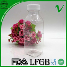 350ml plastic bottle disposable cheap square for juice packaging