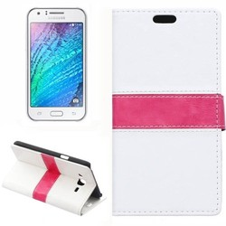 Wholesale Mobile Accessories Flip Leather Case for Samsung Galaxy J7