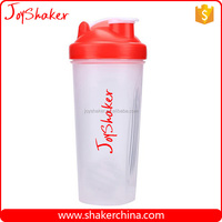 Trade Assurance Custom Logo Plastic Shaker Bottle,Drinking Cup with Mixer Ball