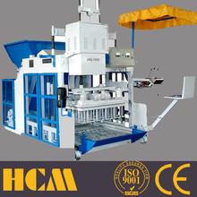 Presse brique terre crue QMY10-15 movable block making machine concrete blocks making machine