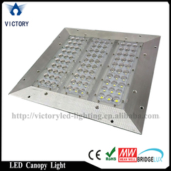 Meanwell driver 100w,120w,150w module led canopy light for gas station