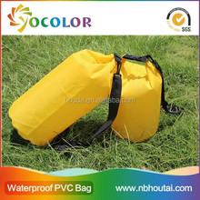 2015 hot sale 500D PVC tarpaulin inflatable Floating Waterproof Bag For Diving for boating
