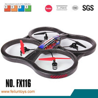 Feilun quadricopter 2.4G 6axis 4channel quad copter with camera rc hovercraft for sale