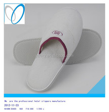 2015 Factory OEM Hot Sale Hotel Disposable luxury bedroom slippers